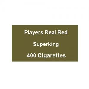 Players Real Red Superking - 20 Packs of 20 Cigarettes (400)