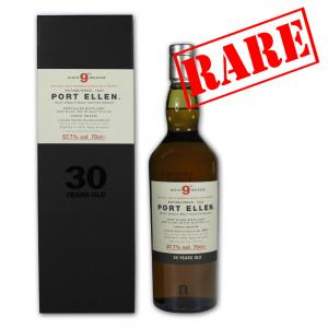 Port Ellen 30 Year Old 1979 9th Release Whisky - 70cl 57.7%