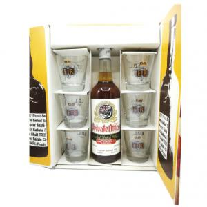 Private Office Scotch Whisky 1960/70s Glass Pack With 6 x Glasses