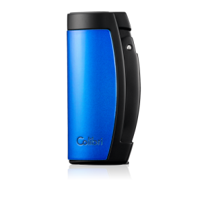 Colibri Enterprise Triple Jet Lighter - Black and Blue (End of Line)