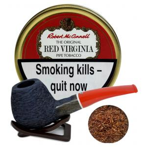 Robert McConnell Red Virginia Pipe Tobacco 50g (Tin)