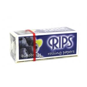 Rips Blueberry Slim Width Rolling Papers 1 pack