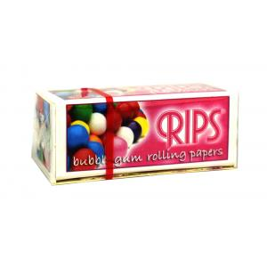 Rips Bubble Gum Slim Width Rolling Papers 1 pack
