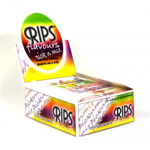 Rips Pick N Mix Slim Width Rolling Papers 24 packs