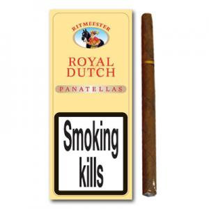 Ritmeester Royal Dutch Panatelas – Pack of 5 cigars