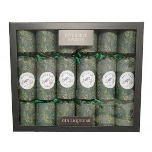 JANUARY SALE - Riverside Gin Liqueur Shimmer Christmas Crackers