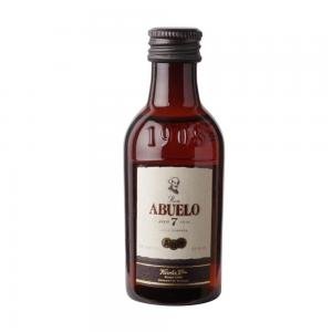 Ron Abuelo 7 Year Old Anejo Rum Miniature - 5cl 40%