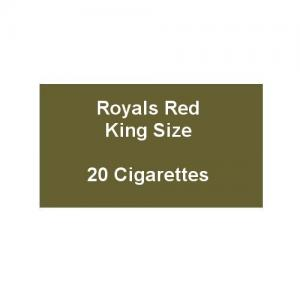 Royals Red King Size Cigarettes - 1 pack of 20 cigarettes (20)