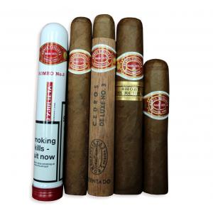 Romeo y Julieta Medium Strength Sampler - 5 Cigars