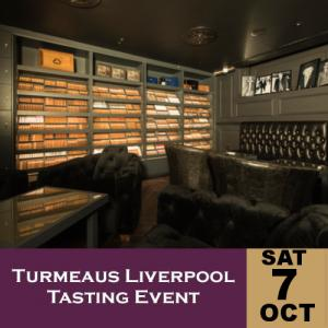 Turmeaus Liverpool Whisky & Cigar Tasting Event - 07/10/17