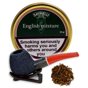 Savinelli English Mixture Pipe Tobacco 50g (Tin)