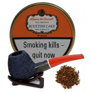 Robert McConnell Scottish Cake Pipe Tobacco 50g (Tin)
