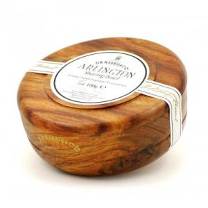 D R Harris & Co Ltd Arlington Shaving Soap in Mahogany Bowl - 100g