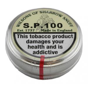 Wilsons of Sharrow - SP 100 Snuff - Small Tin - 5g
