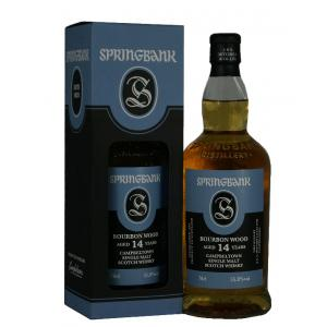 Springbank 14 Year Old Bourbon - 70cl 55.8%