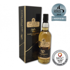 Stalla Dhu Ben Nevis 18 Year Old Cask Strength Malt Whisky - 70cl 56.2%