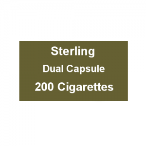 Sterling Dual Capsule Kingsize - 10 Packs of 20 Cigarettes (200)