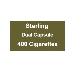 Sterling Dual Capsule Kingsize - 20 Packs of 20 Cigarettes (400)