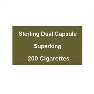 Sterling Dual Capsule Superking - 10 Packs of 20 Cigarettes (200)