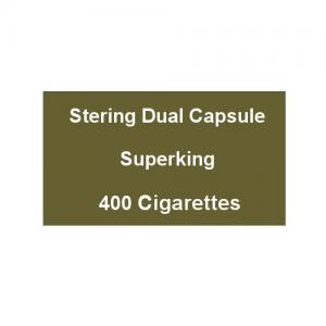 Sterling Dual Capsule Superking - 20 Packs of 20 Cigarettes (400)
