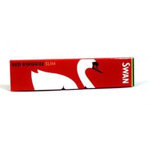 Swan King Size Red Slim Rolling Papers 1 Pack