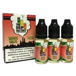 The Drip Factory - Sweet Silos Vape E-Liquid - 3 x 10ml 3mg