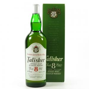 Talisker 8 Year Old 1970s Whisky - 75cl 45.8%