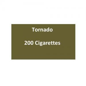 Tornado Cigarettes - 10 packs of 20 cigarettes (200)