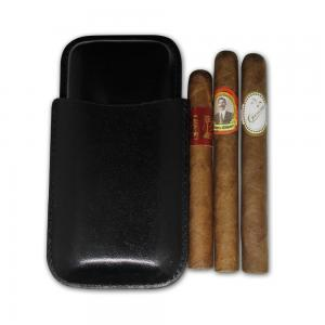 Leather Pouch Travel Sampler - 3 Cigars