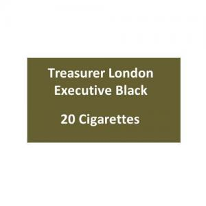 Treasurer London - Executive Black - 1 pack of 20 cigarettes (20)