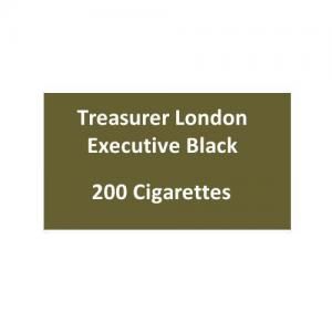 Treasurer London - Executive Black - 10 packs of 20 cigarettes (200)