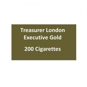 Treasurer London - Executive Gold - 10 packs of 20 cigarettes (200)