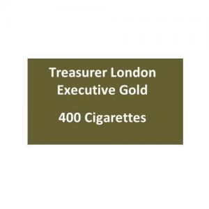 Treasurer London - Executive Gold - 20 packs of 20 cigarettes (400)
