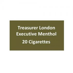 Treasurer London - Executive Menthol - 1 pack of 20 cigarettes (20)