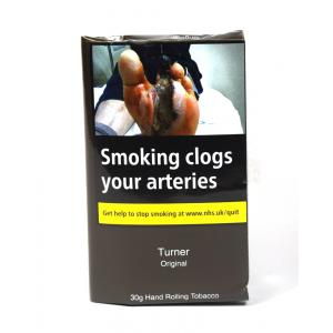 The Turner Original (Blue) Hand Rolling Tobacco 30g (Pouch)