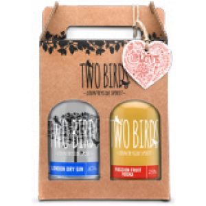 JANUARY SALE - Two Birds Gin Pack - 2x20cl