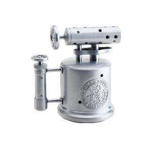 Vector Mega Pump Table Torch Lighter - Chrome