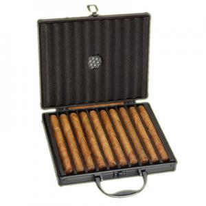 Vector Aluminium Travel Case - 10 Cigar Capacity