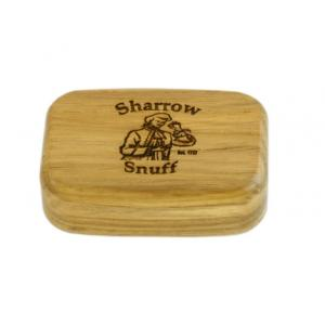 Wilsons of Sharrow Wooden Snuff Box - Light Wood