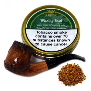 Ashton Winding Road Pipe Tobacco 50g Tin