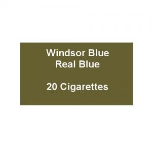 Windsor Blue King Size Real Blue - 1 Pack of 20 Cigarettes (20)