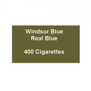 Windsor Blue King Size Real Blue - 20 Packs of 20 Cigarettes (400)