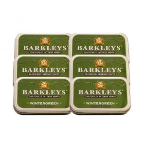 Barkley's Mints – Wintergreen Tin 50g – 6 x 50g (300g)
