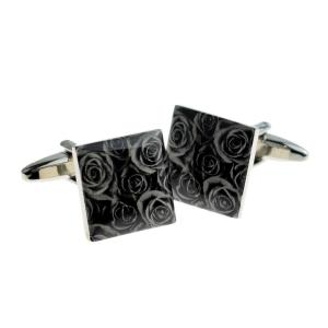 Black Rose Cufflinks