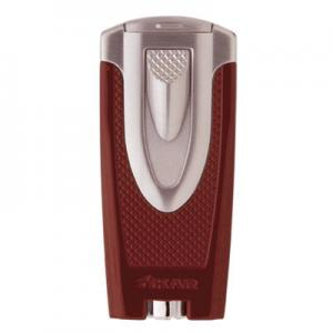 Xikar Axia Double Jet Lighter Red