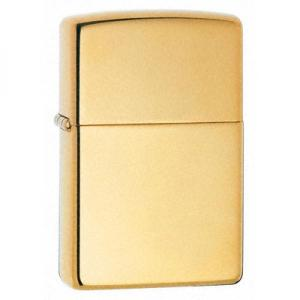Zippo Vintage Lighter - High Polished Brass