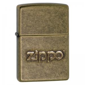 Zippo - Antique Stamp Brass - Windproof Lighter