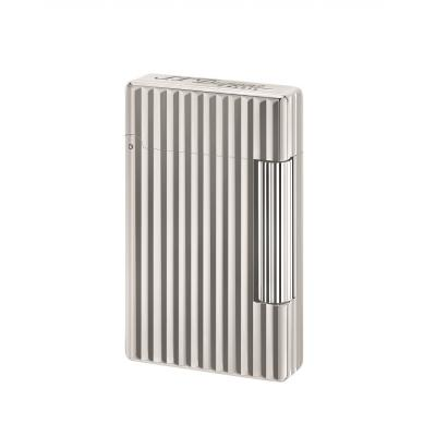 ST Dupont Initial Lighter - White Bronze Lines