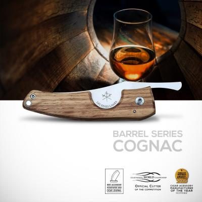 Les Fines Lames Le Petit - The Cigar Pocket Knife - Barrel Series Cognac