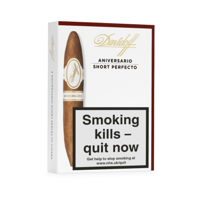 Davidoff Aniversario Short Perfecto Cigar - Pack of 4